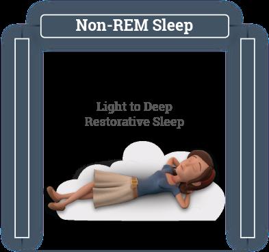 Non-REM Sleep infographic